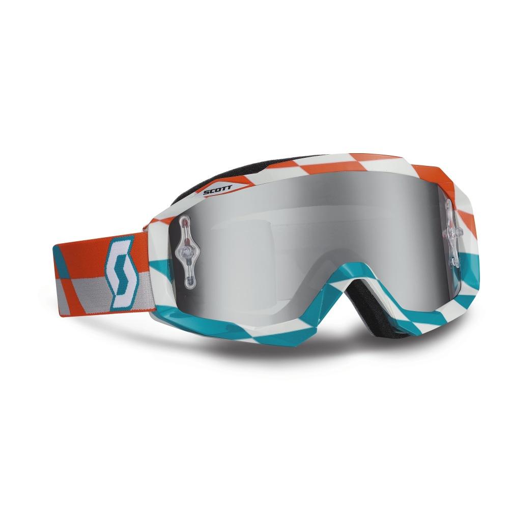 Moto brýle Scott Hustle MXV oranžovo-modrá
