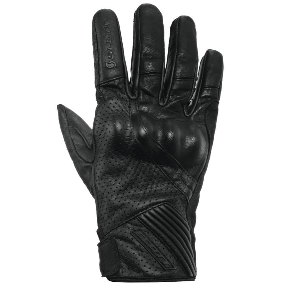 Moto rukavice Scott Lane 2 černá - XL