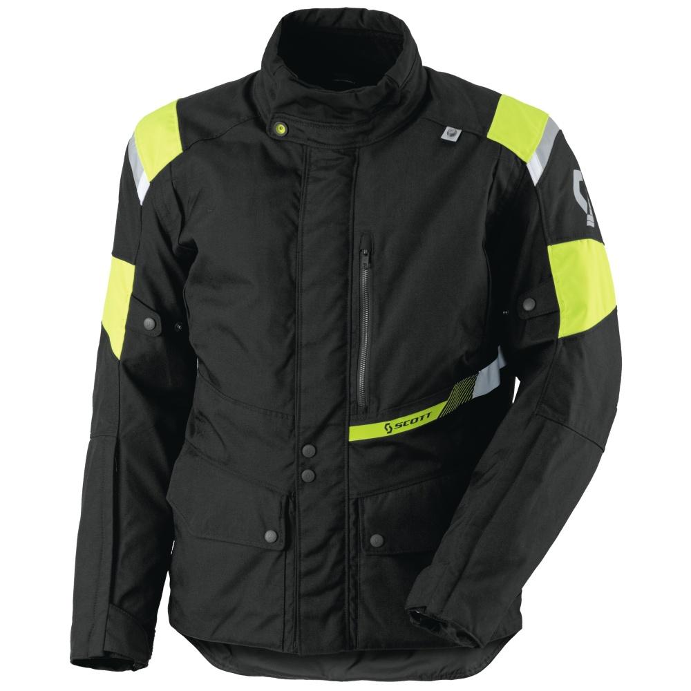 Moto bunda Scott Turn DP černo-žlutá - L (50-52)