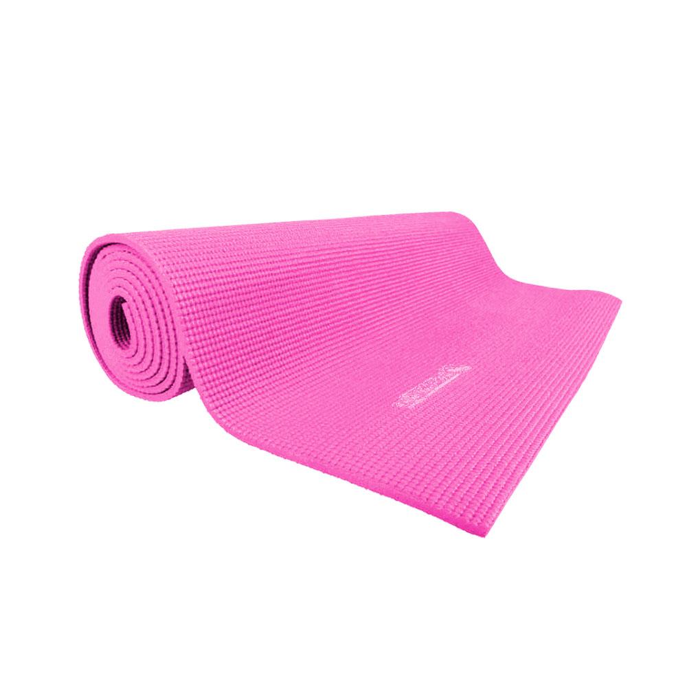 Karimatka inSPORTline Yoga 173x60x0,5 cm růžová