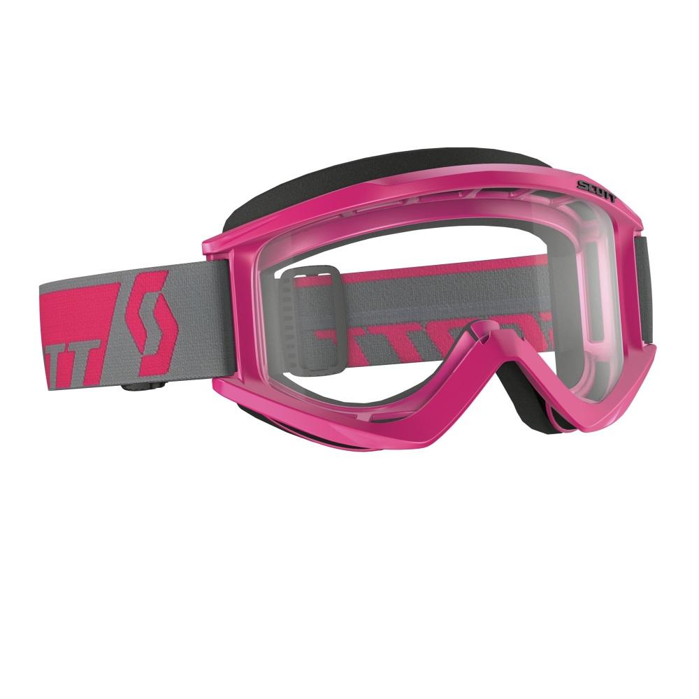 Motokrosové brýle Scott Recoil Xi MXVI růžová