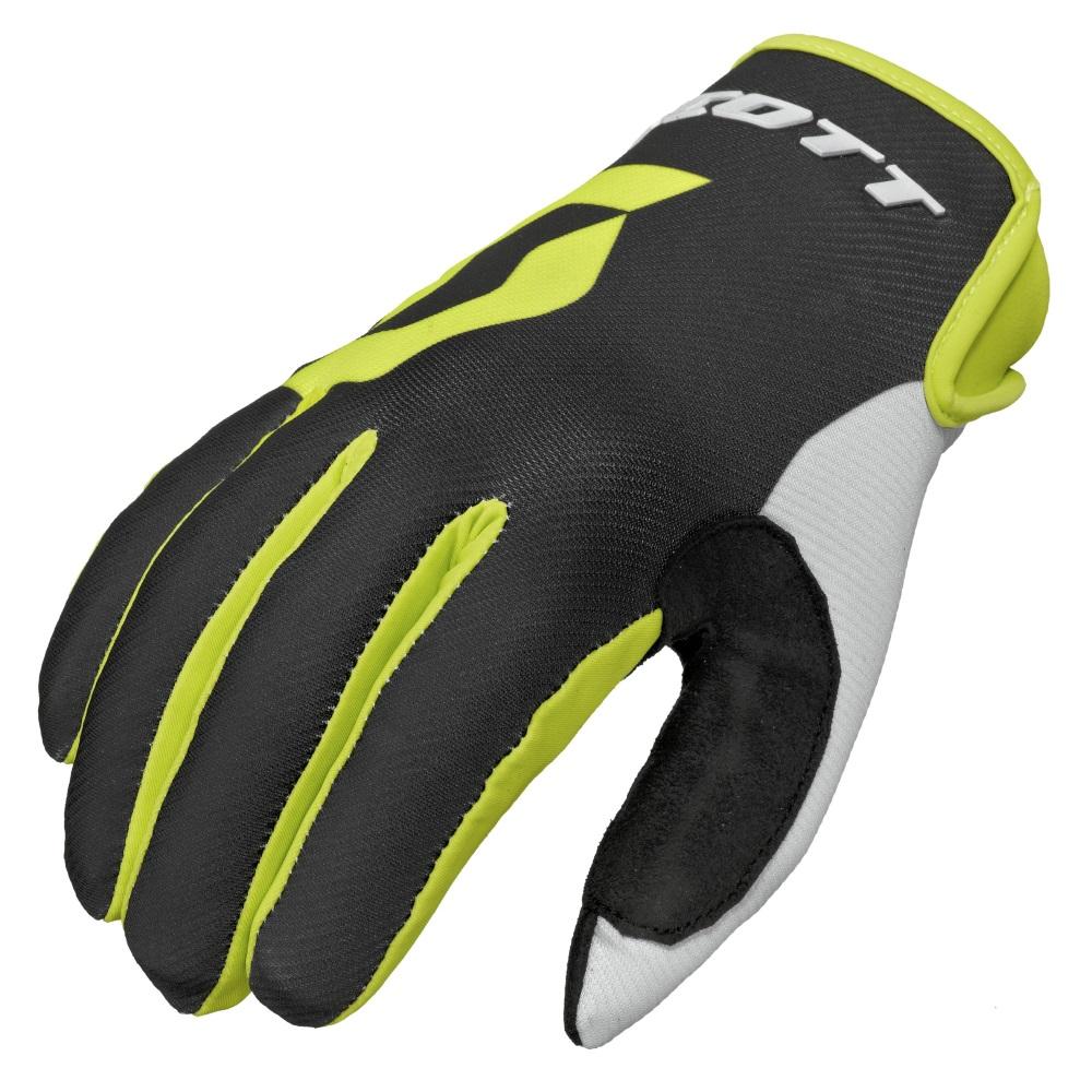 Motokrosové rukavice Scott 350 Track MXVI černo-zelená - M