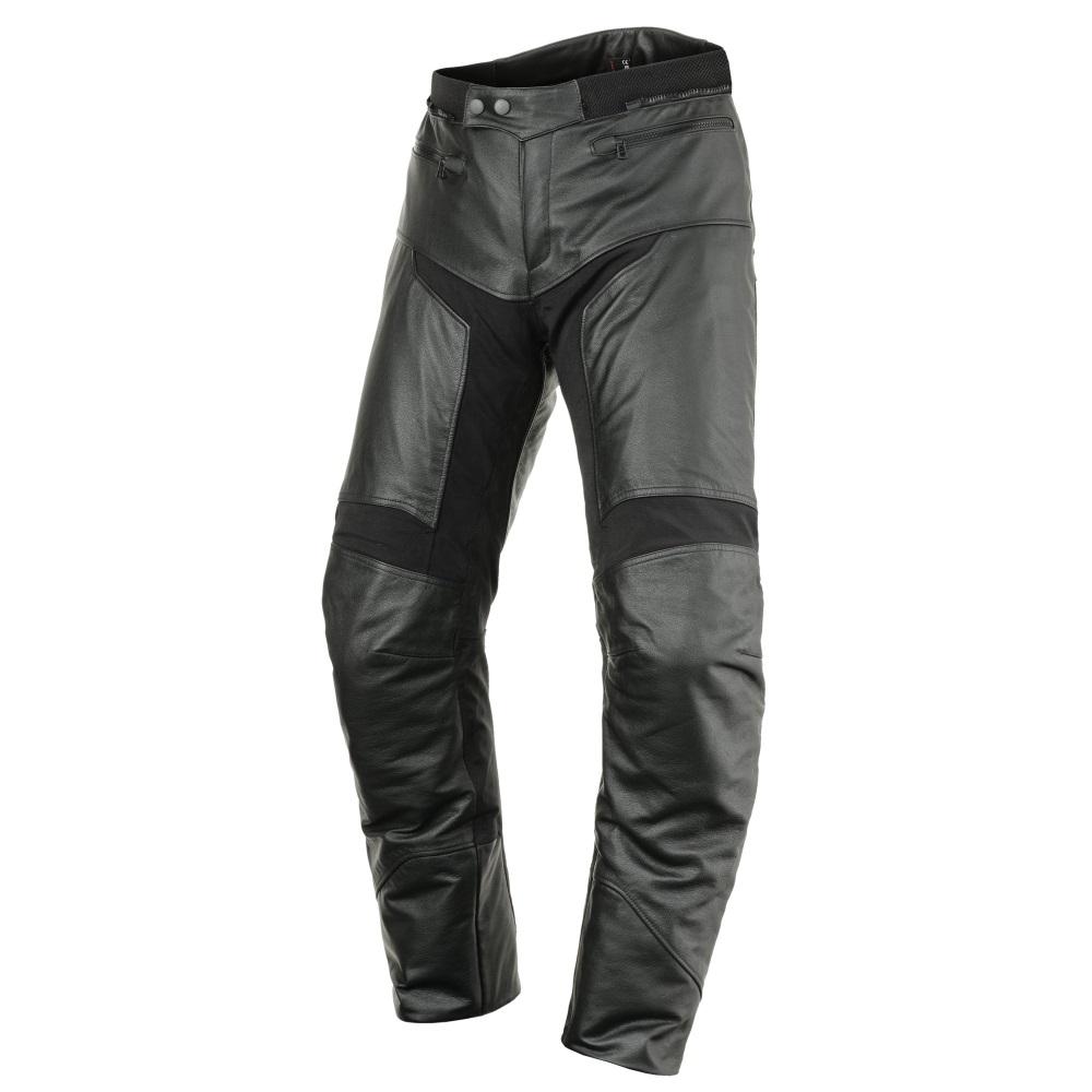 Kožené moto kalhoty Scott Tourance Leather DP černá - M (32)