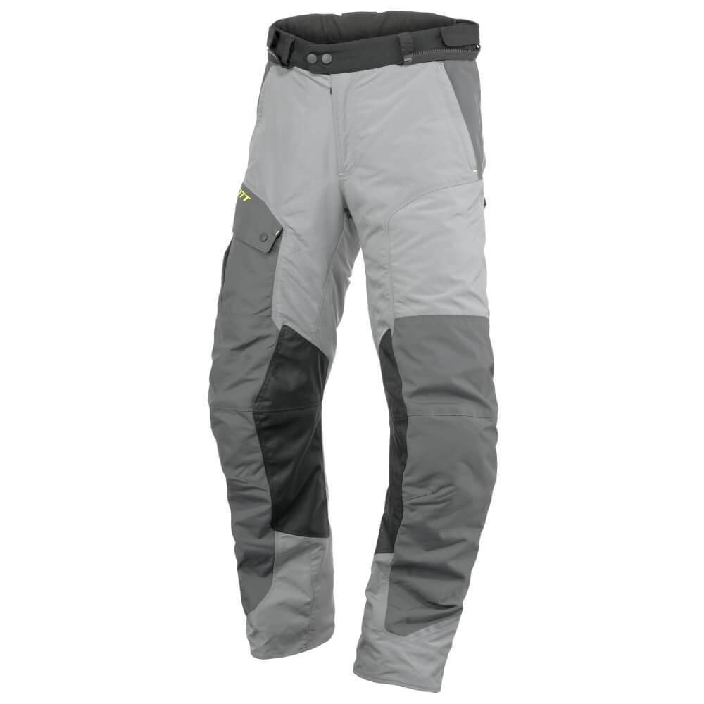 Moto kalhoty Scott Concept VTD světle šedá-tmavě šedá - M (32)