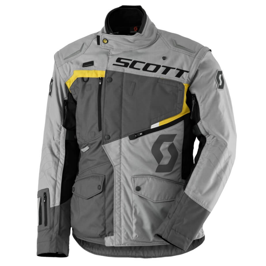 Moto bunda SCOTT Dualraid DP MXVII Grey-Yellow - L (50-52)