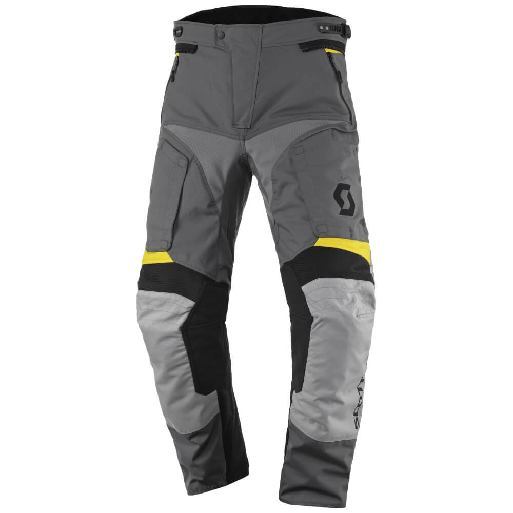Moto kalhoty SCOTT Dualraid DP MXVII Grey-Yellow - 3XL (40)