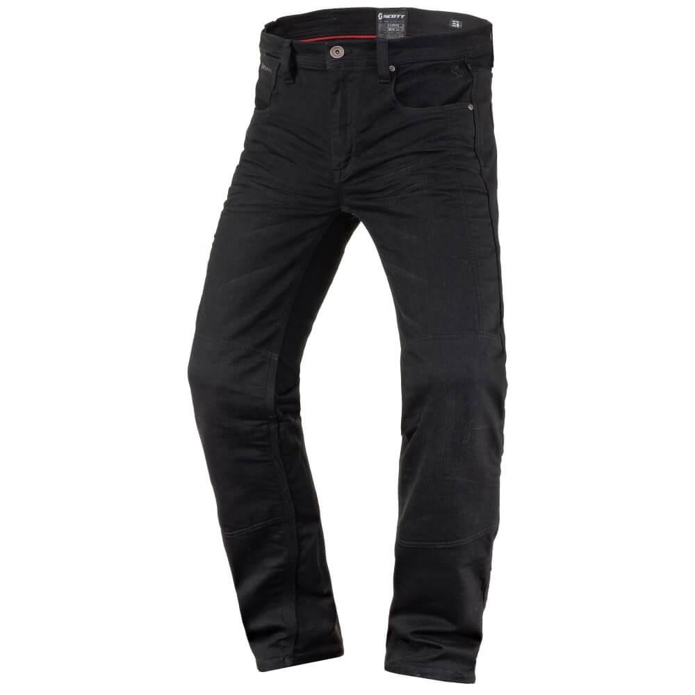 Moto kalhoty SCOTT Denim Stretch MXVII černá - M (32)