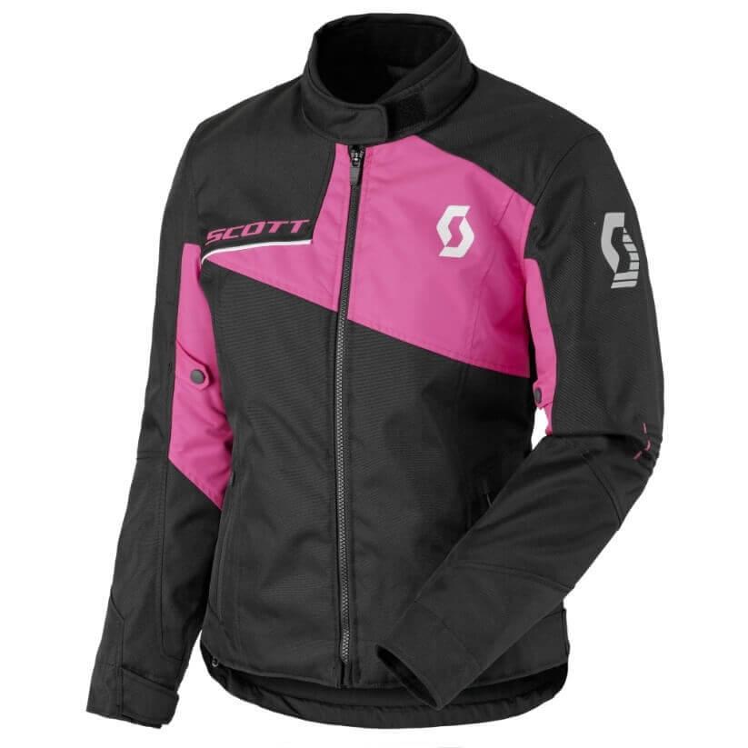 Dámská moto bunda SCOTT W's Sport Pro DP MXVII Black-Neon Pink - M (36)