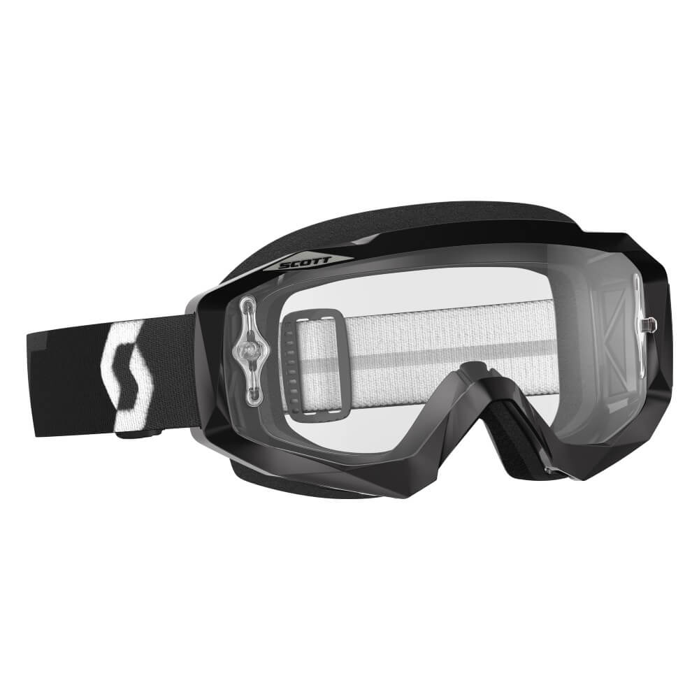 Moto brýle SCOTT Hustle MXVII Clear Black