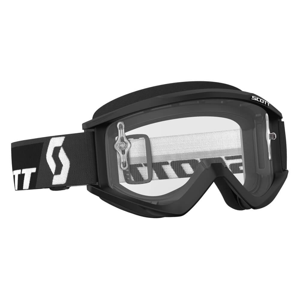 Motokrosové brýle SCOTT Recoil Xi MXVII Clear Black