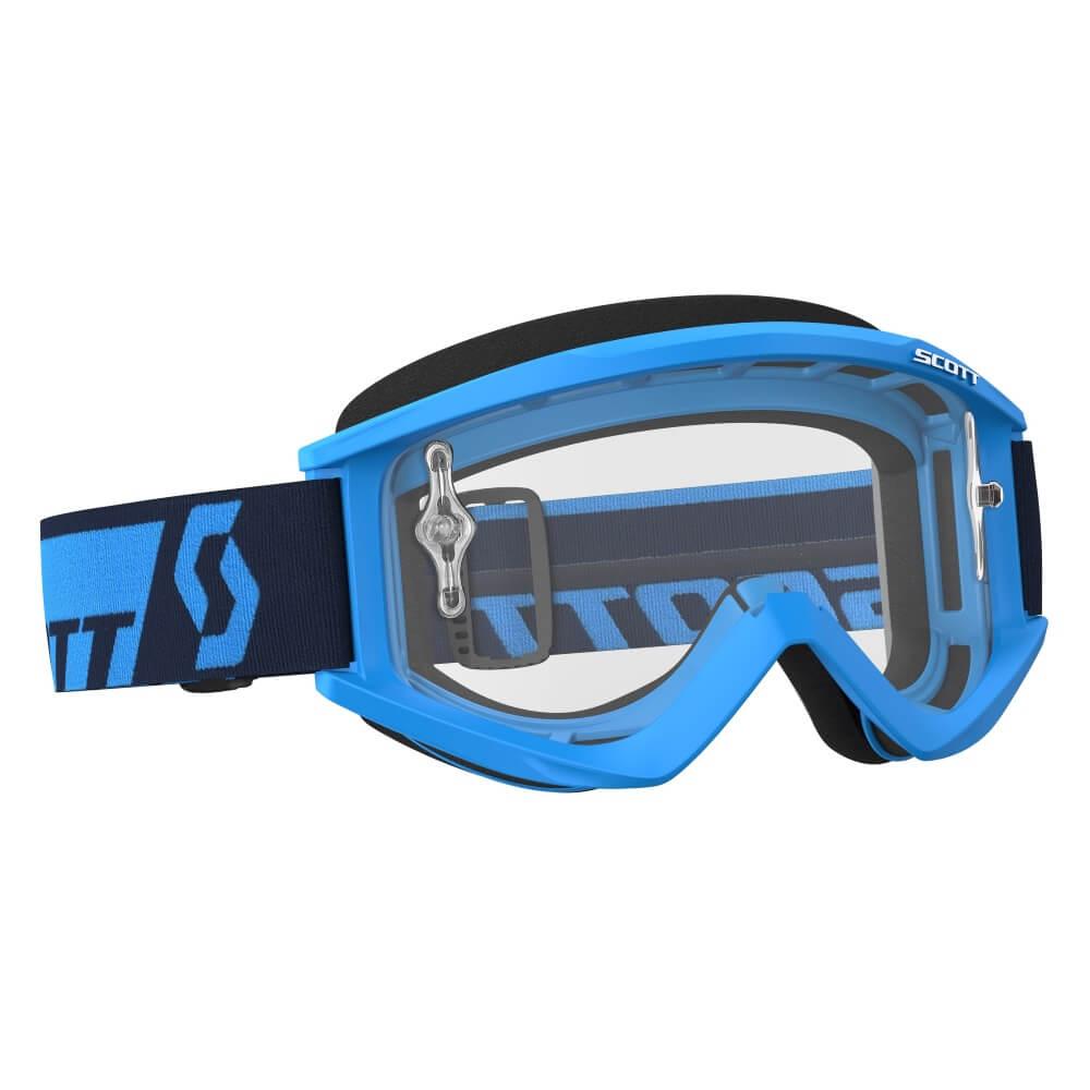 Motokrosové brýle SCOTT Recoil Xi MXVII Clear Blue