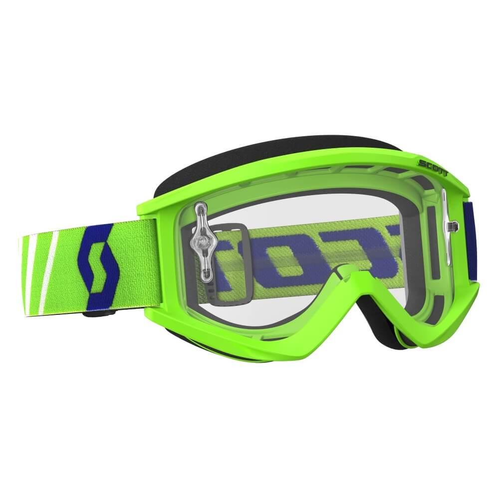 Motokrosové brýle SCOTT Recoil Xi MXVII Clear Green