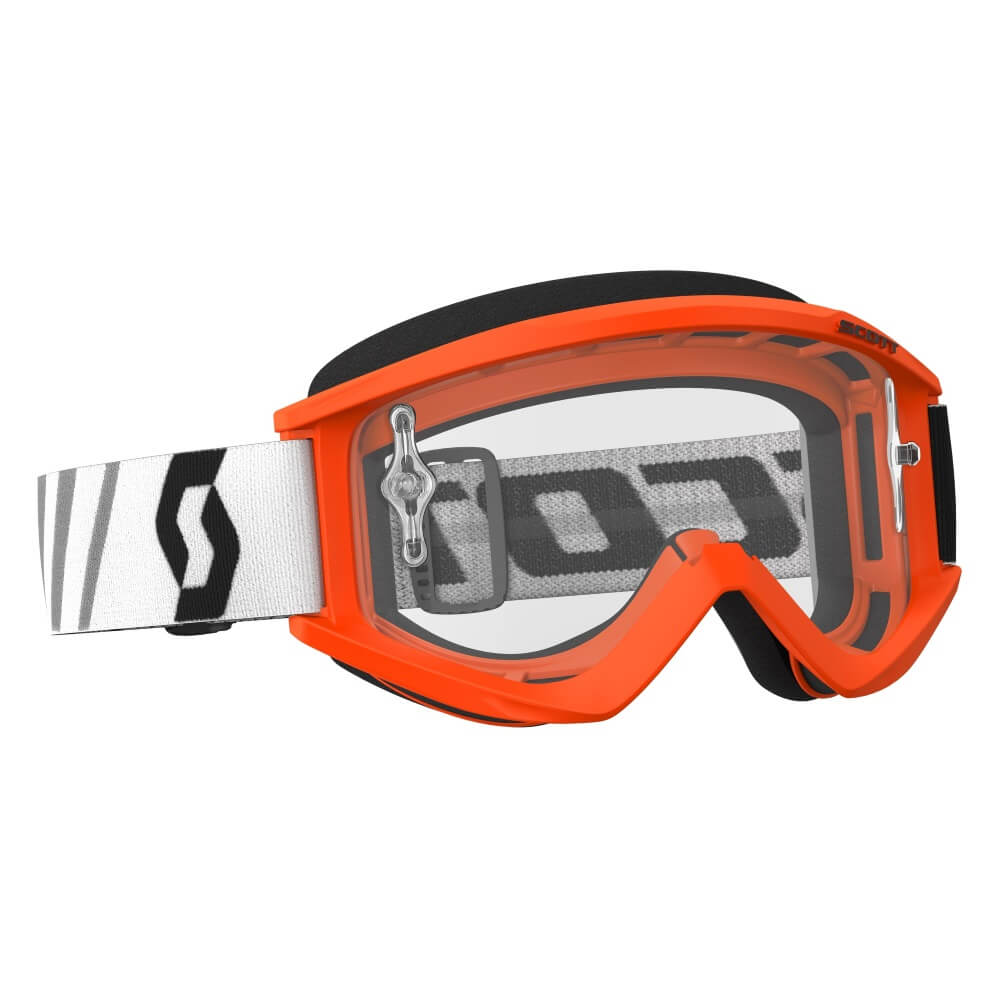 Motokrosové brýle SCOTT Recoil Xi MXVII Clear Orange-Black