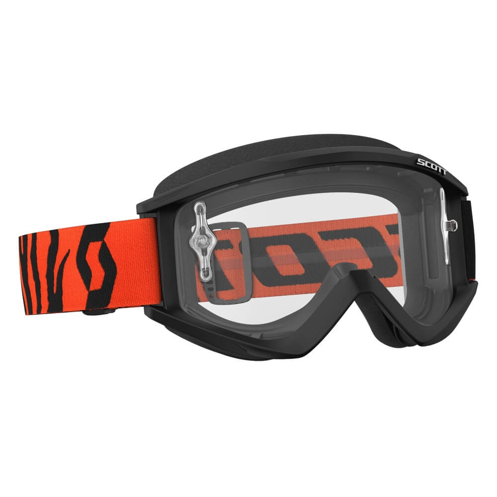 Motokrosové brýle SCOTT Recoil Xi MXVII Clear black-fluo orange