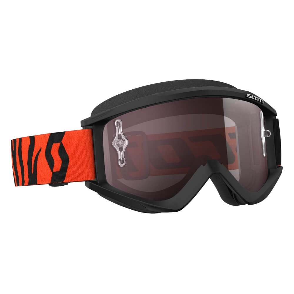 Motokrosové brýle SCOTT Recoil Xi MXVII black-fluo orange-silver chrome
