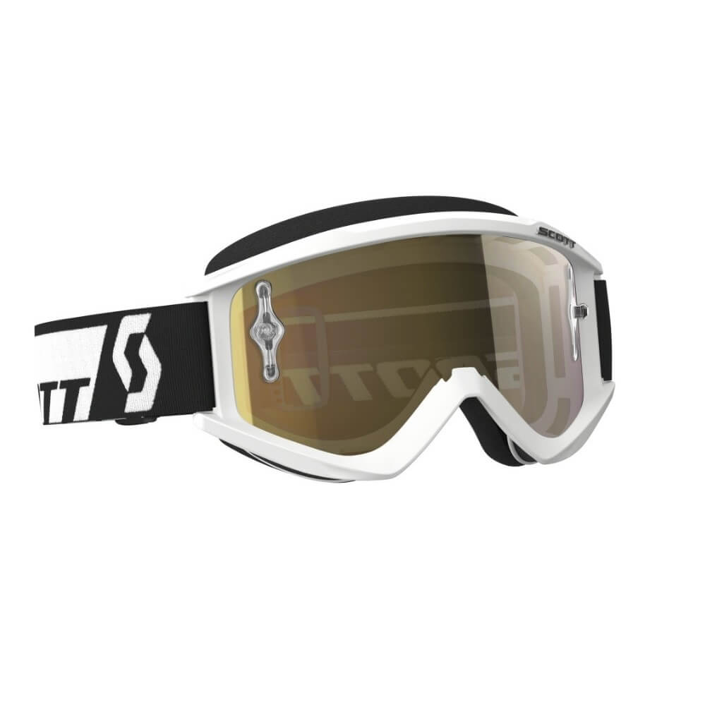 SCOTT Recoil Xi MXVII whitegold chrome