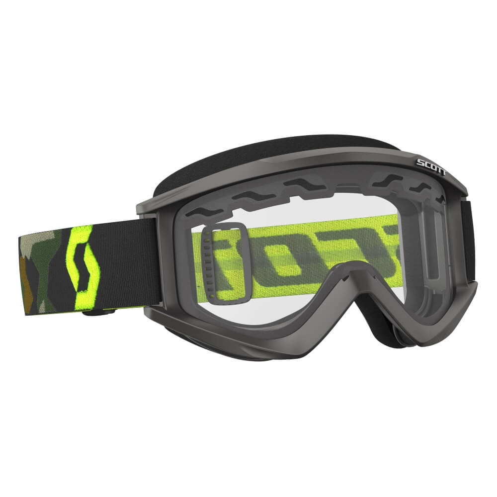 Motokrosové brýle SCOTT Recoil Xi MXVII Enduro Clear Grey-Fluo-Yellow