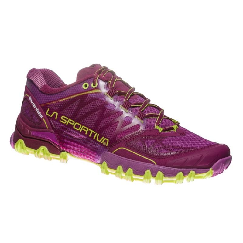 8ecc4388f24 Dámské běžecké boty La Sportiva Bushido Women - Plum Apple Green ...