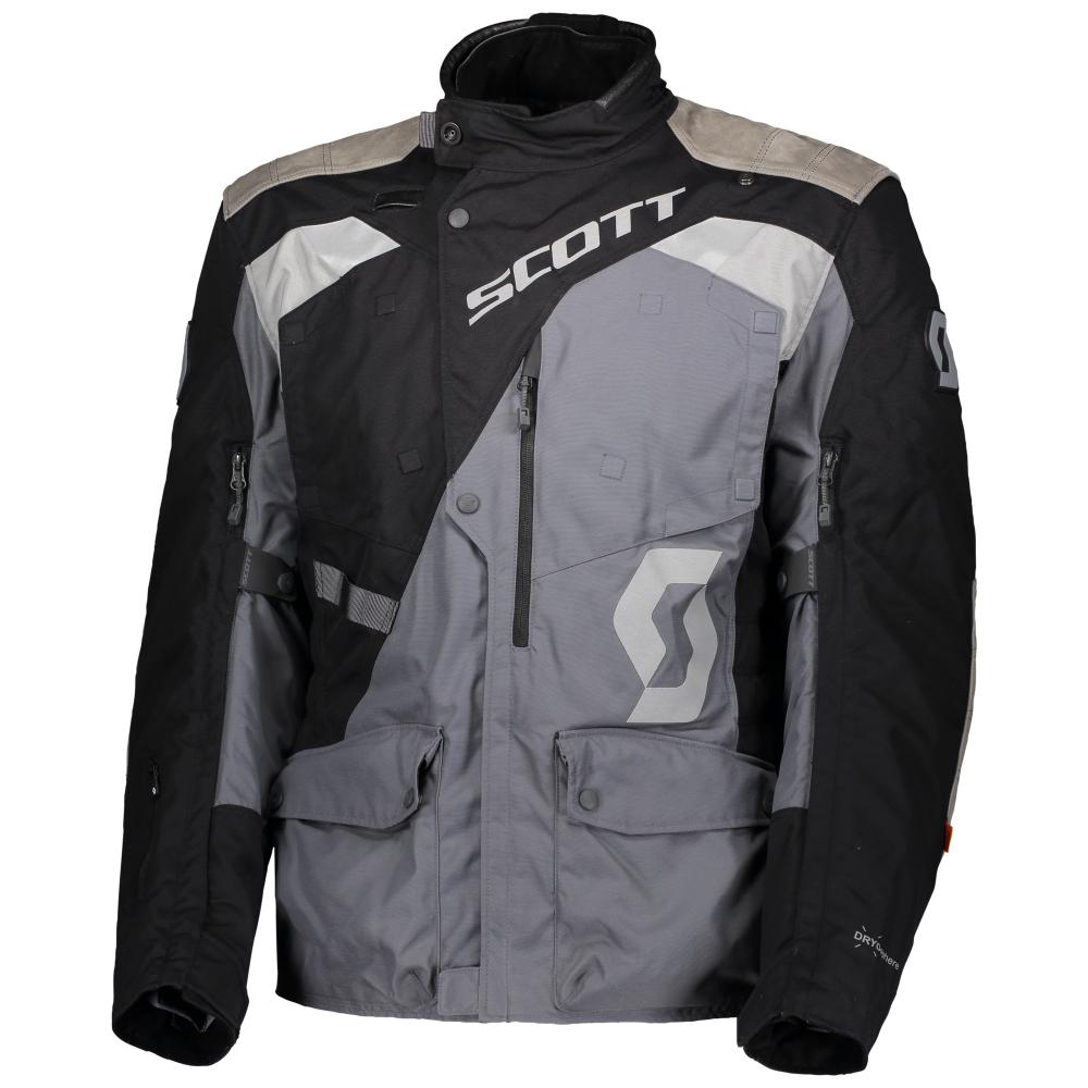 Moto bunda SCOTT Dualraid Dryo black/iron grey - S