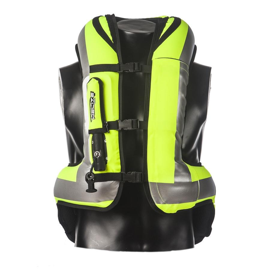 Airbagová vesta Helite Turtle rozšířená HiVis žlutá - L