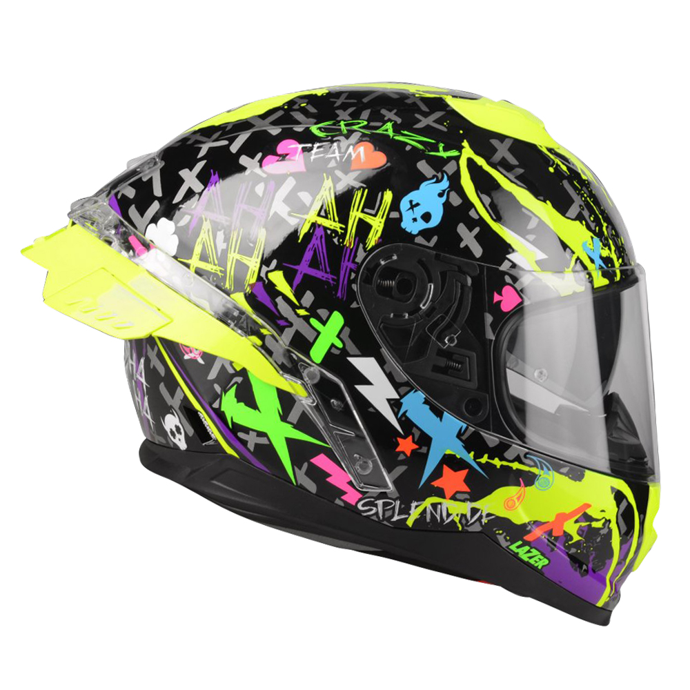 Lazer Rafale SR Crazy (Black-Multicolor) - L (59-60)