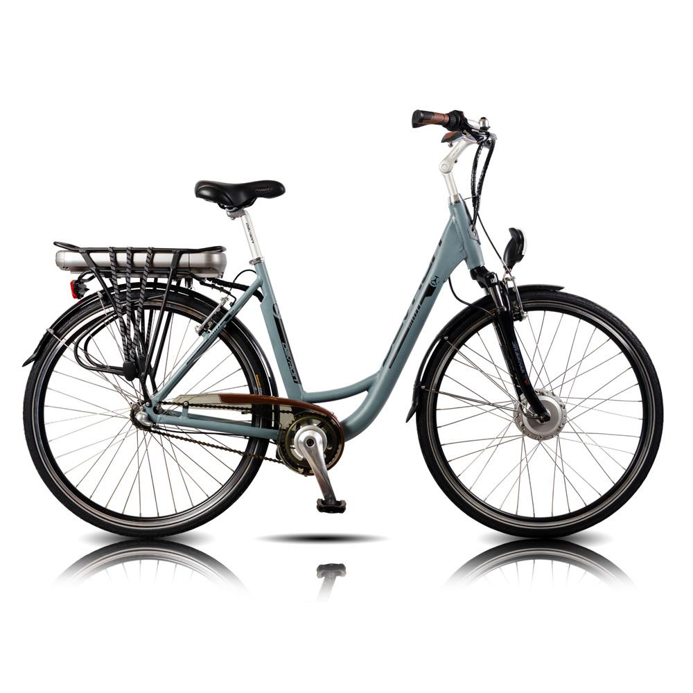 """Městské elektrokolo Devron 28120 - model 2015 Matte Grey - 19,5"""" - Servis u zákazníka + Záruka 5 let"""