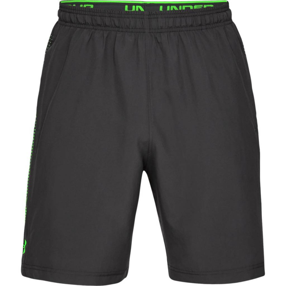 Under Armour Woven Graphic Short GrayGreen - XL