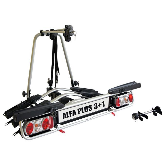 Nosič kol na tažné zařízení ALFA Plus 3+1