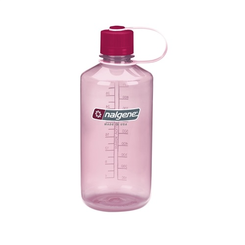 Nalgene Narrow Mouth 1l Clear Pink 32 NM