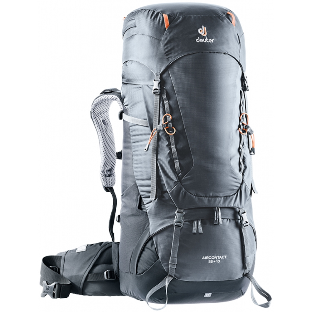 Deuter Aircontact 55  10 graphite-black