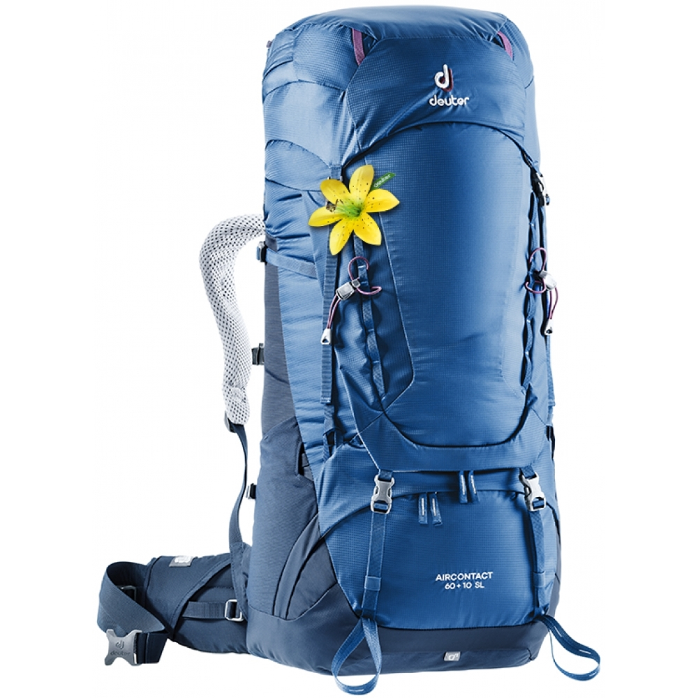 Deuter Aircontact 60  10 SL steel-midnight