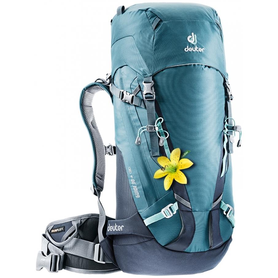 Horolezecký batoh DEUTER Guide 30+ SL arctic-navy 04f53162c5
