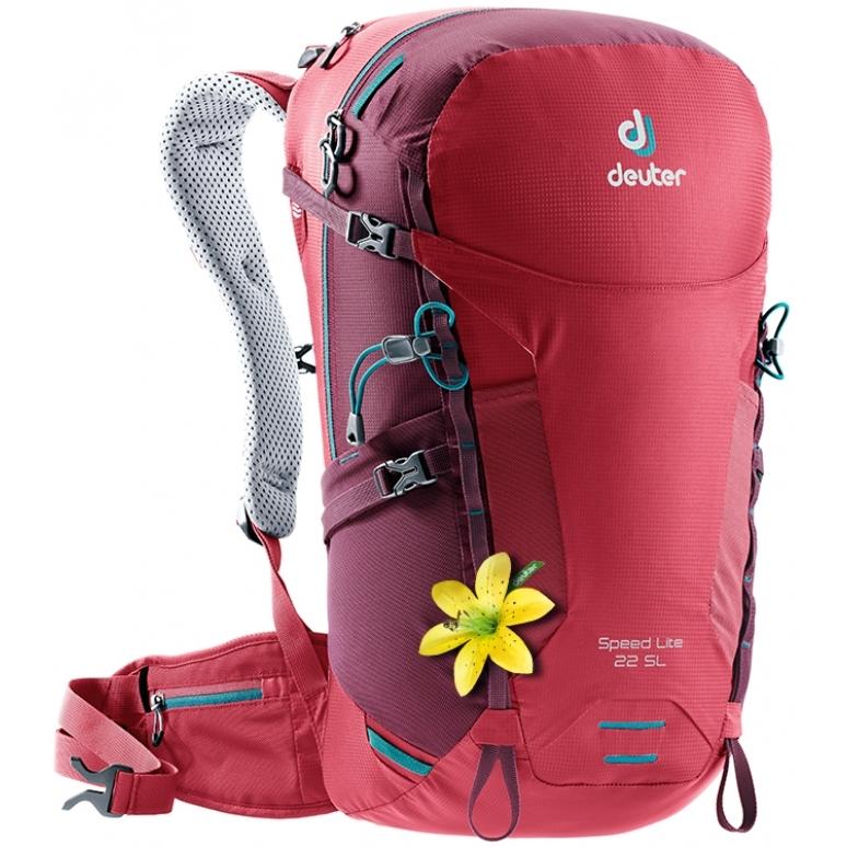 173849bdfc4 Turistický batoh DEUTER Speed Lite 22 SL cardinal-maron