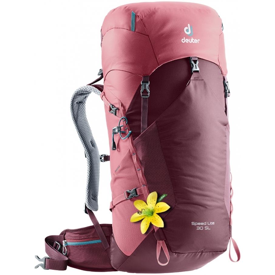 628bf48783 Turistický batoh DEUTER Speed Lite 30 SL maron-cardinal