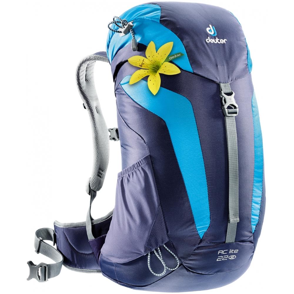 9fd96798a7 Turistický batoh DEUTER AC Lite 22 SL fialovo-modrá