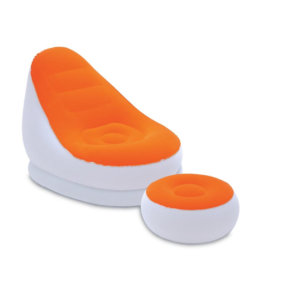 Nafukovací křeslo Bestway Comfort Crusier Air Chair oranžová