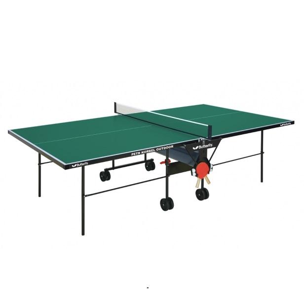 Stůl na stolní tenis Butterfly Petr Korbel Outdoor zelená