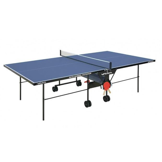 Stůl na stolní tenis Butterfly Petr Korbel Outdoor modrá