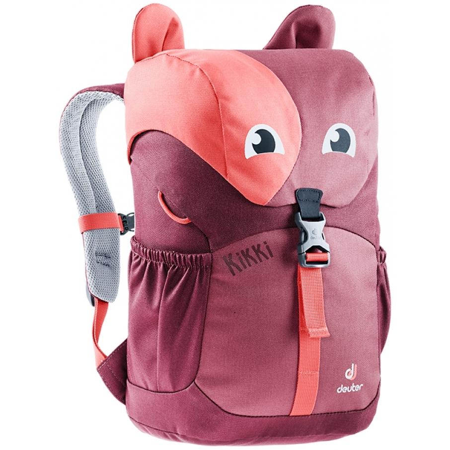 Dětský batoh DEUTER Kikki cardinal-maron f04f2ab5c8