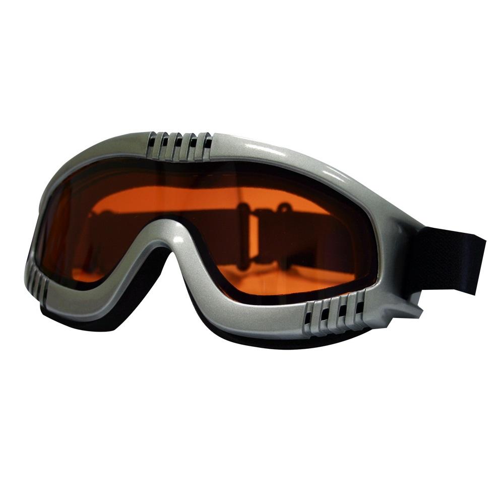 Lyžařské brýle RELAX Pilot šedá