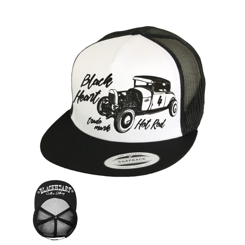 BLACK HEART Coupe 32 Trucker bílá