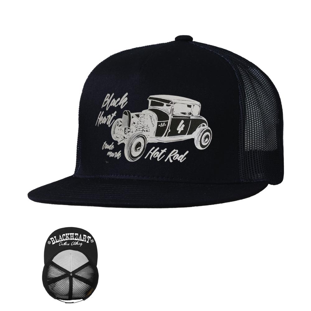 Kšiltovka BLACK HEART Coupe 32 Trucker černá 57e7bb7a25