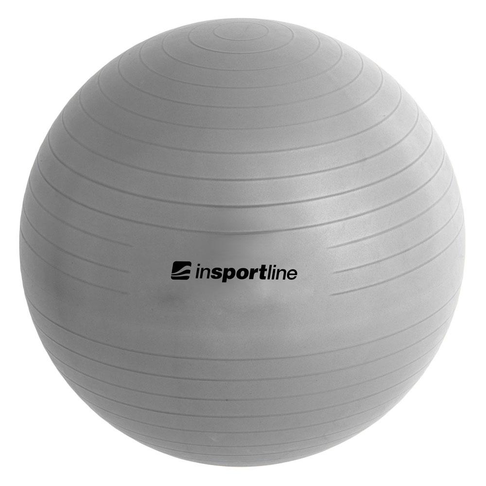 Gymnastický míč inSPORTline Top Ball 75 cm šedá