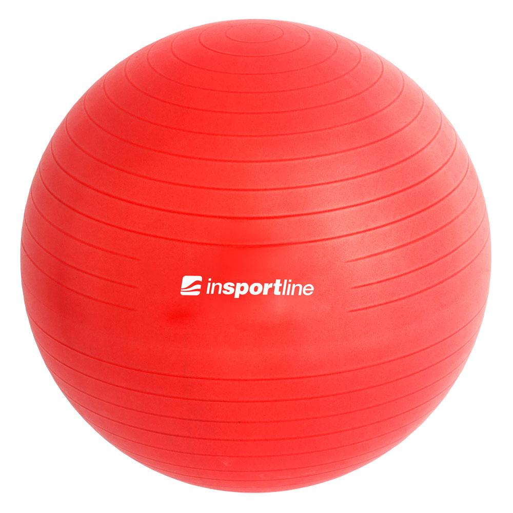 Gymnastický míč inSPORTline Top Ball 65 cm červená