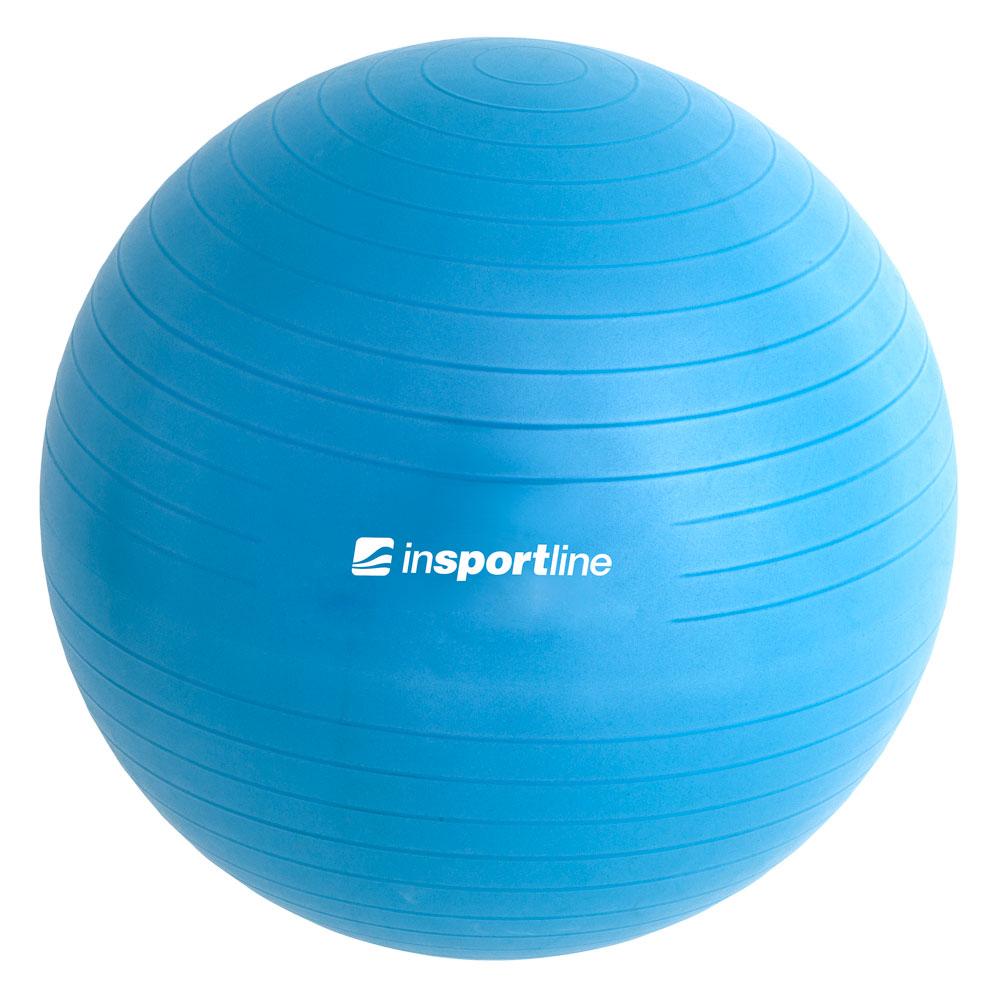 Gymnastický míč inSPORTline Top Ball 75 cm modrá