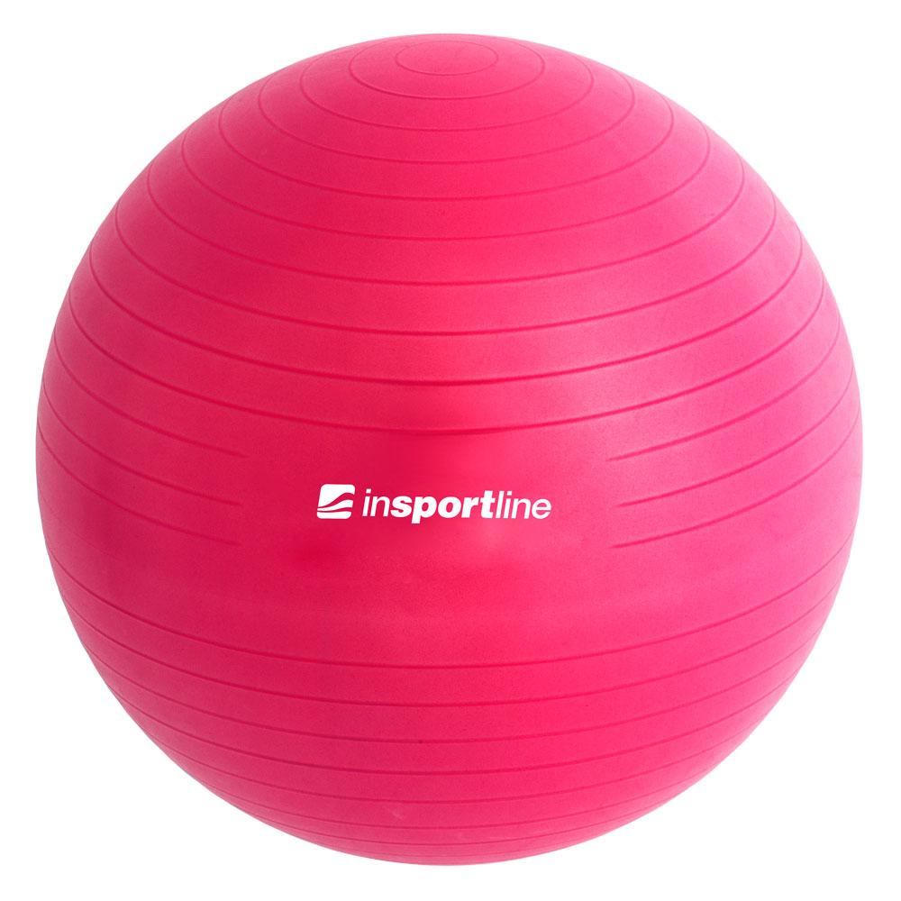 Gymnastický míč inSPORTline Top Ball 55 cm fialová