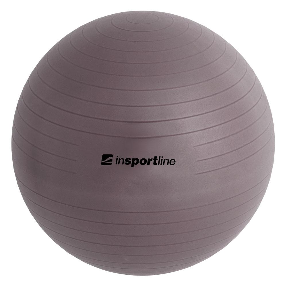 Gymnastický míč inSPORTline Top Ball 55 cm tmavě šedá