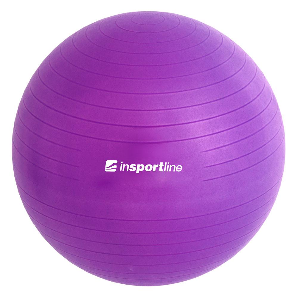 Gymnastický míč inSPORTline Top Ball 65 cm fialová