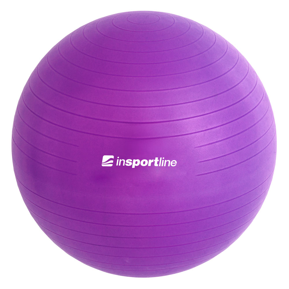 inSPORTline Top Ball 75 cm fialová
