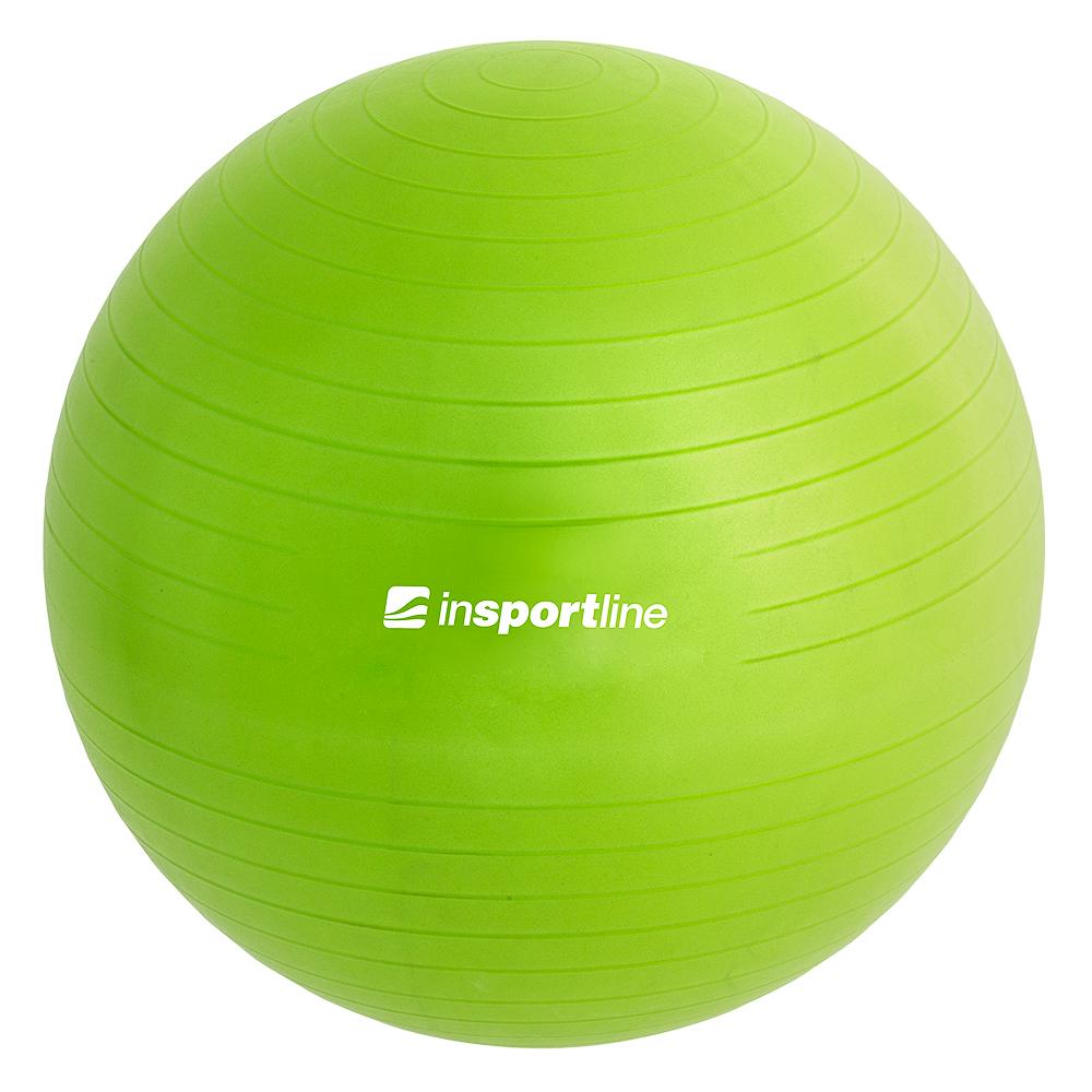 Gymnastický míč inSPORTline Top Ball 55 cm zelená